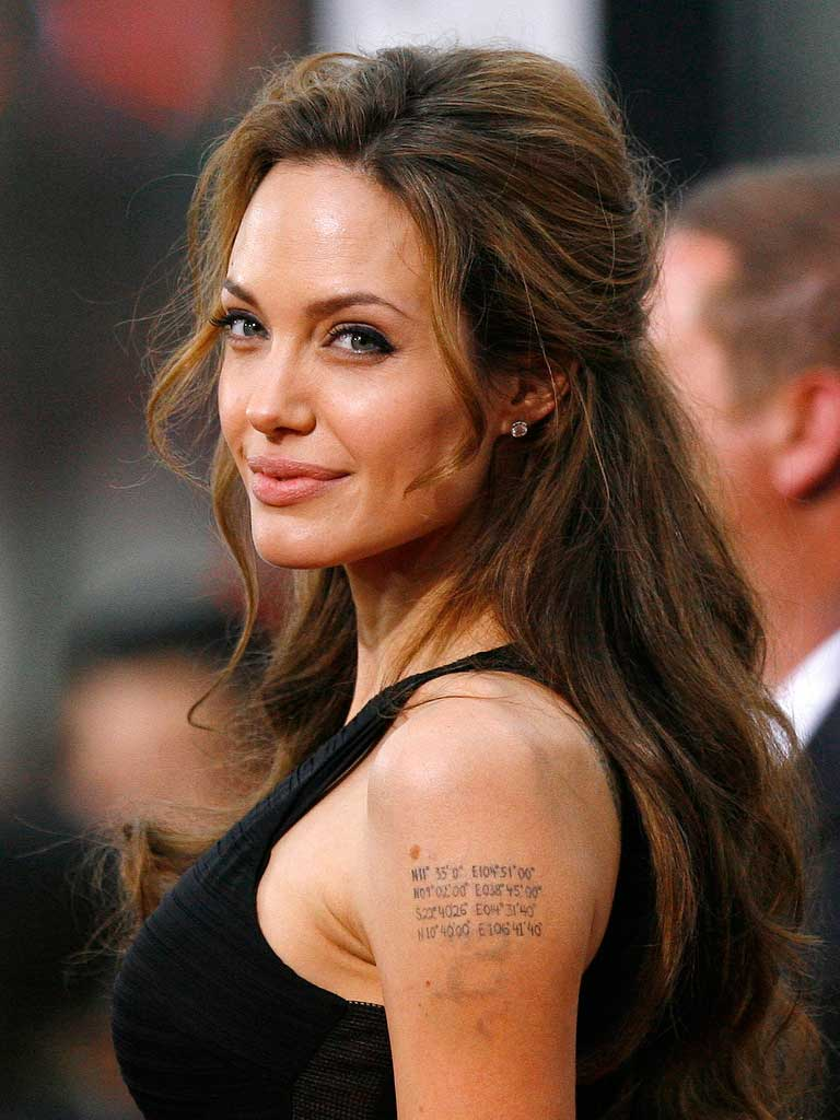 Angelina Jolie, der Star aus Hollywood in Berlin